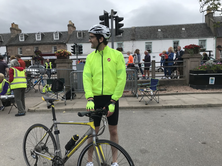 Stuart Mack at Highland Cross 2019